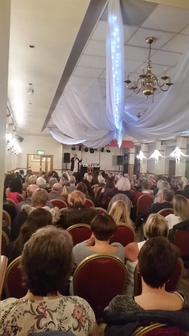 psychic lincoln www.spiritualevents.co.uk Mediumship demonstration UK England Scotland Wales