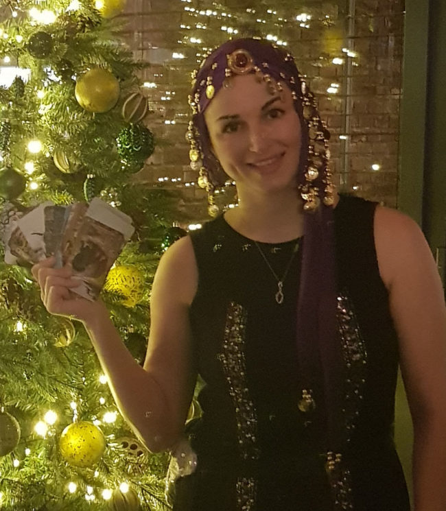 Luna christmas party ideas tarot readings spiritualevents.co.uk